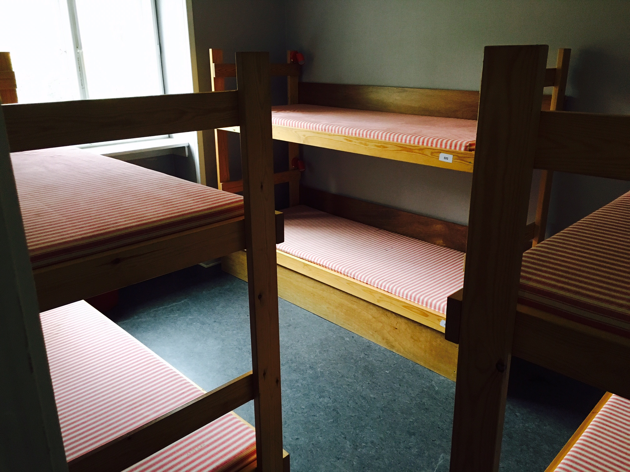 Newly renovated dorms